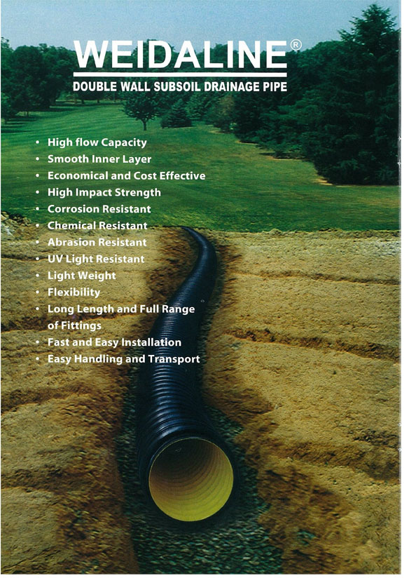 Subsoil Drainage Pipe